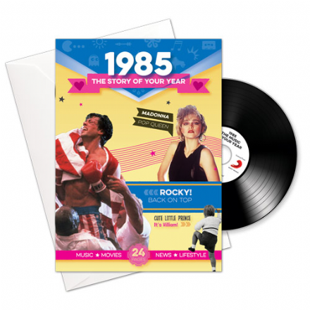 1980 to 1985  The Story of your Year CD/Booklet